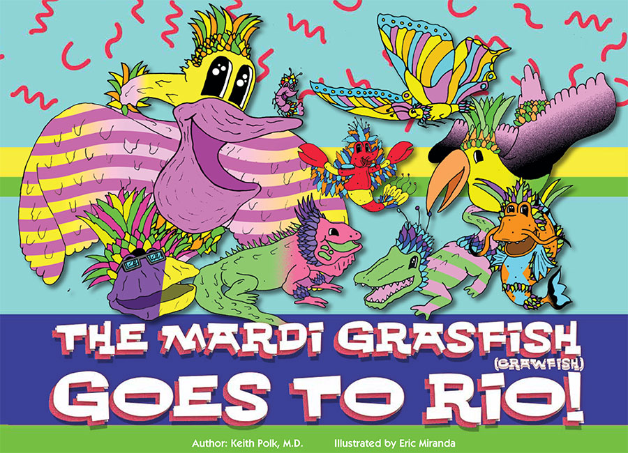 The Mardi Grasfish book cover